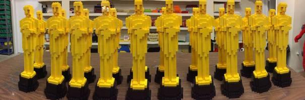 Nathan Sawaya e i Lego -Oscar
