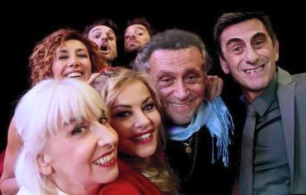 Pia engleberth, Roberta garzia, Andrea standardi, Eva grimaldi, Ludovico fremont, Andrea roncato e Pietro de silva