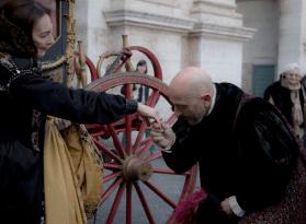 Carnevale Romano con Maria Rosaria Omaggio barbara roppo