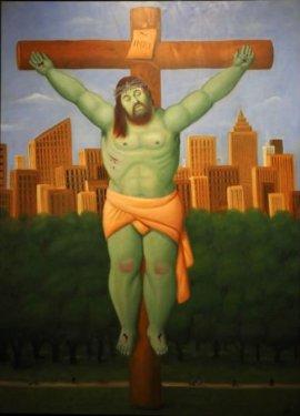 la ''Via Crucis'' di Botero 7