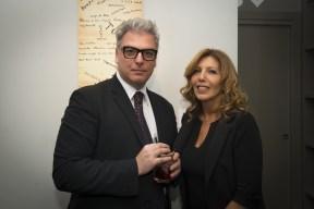 Federico Mollicone e Tina Vannini