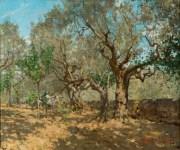 Telemaco Signorini, Uliveta (1885 circa), già collezione Edoardo Bruno