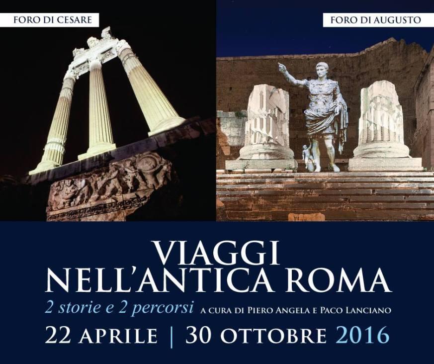 Viaggi nell'Antica Roma Piero Angela