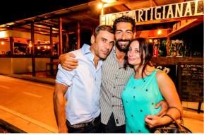Francesco Stella, Salvo Cagnazzo e Sara Leoni