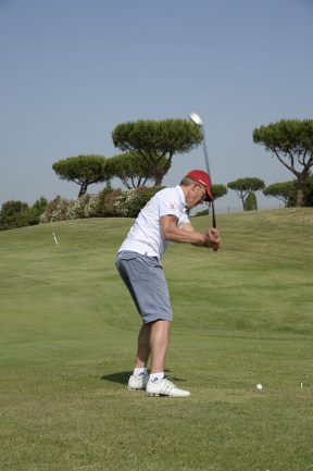 Kaspar Capparoni golf