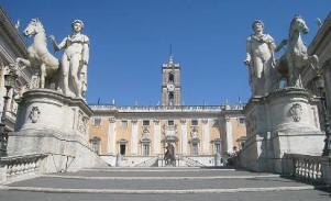 Palazzo Senatorio, Campidoglio, 21 aprile