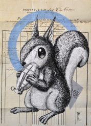 alessio-bolognesi-_bombing-squirrel_42x30cm_2016