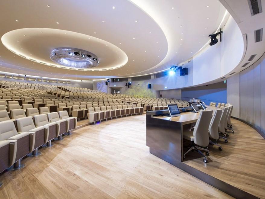 Auditorium della tecnica Confindustria EUR road to green