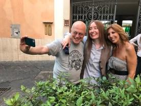 Rolando Giambelli, Silvia Chialli e Tina Vannini