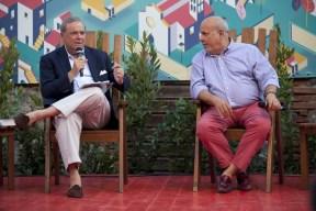 Mario Platero e Alan Friedman