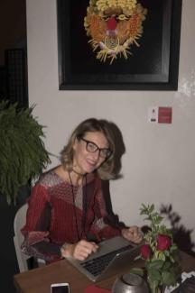 Francesca Barbi Marinetti festeggia il compleanno