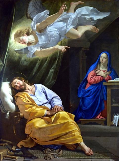 The Dream of St Joseph Philippe de Champaigne
