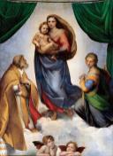 The Sistine Madonna by Raphael (1512-1513)
