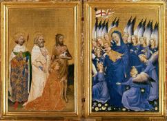 The Wilton Diptych, unknown artist (c 1395-99)