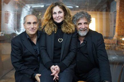 Pino Ammendola, Roberta Cima ed Edoardo Siravo