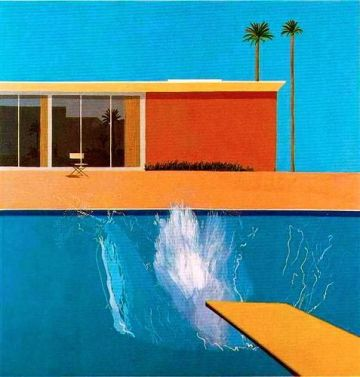 David Hockney A Bigger Splash (1967)