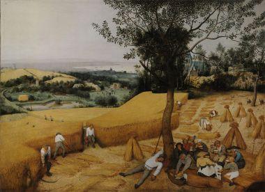 Pieter Bruegel The Harvesters (1565)
