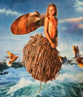José Molina_Fiore di mare_2016_olio su tavola_cm144x129_collezione Beloved Earth_ph. Ernesto Blotto