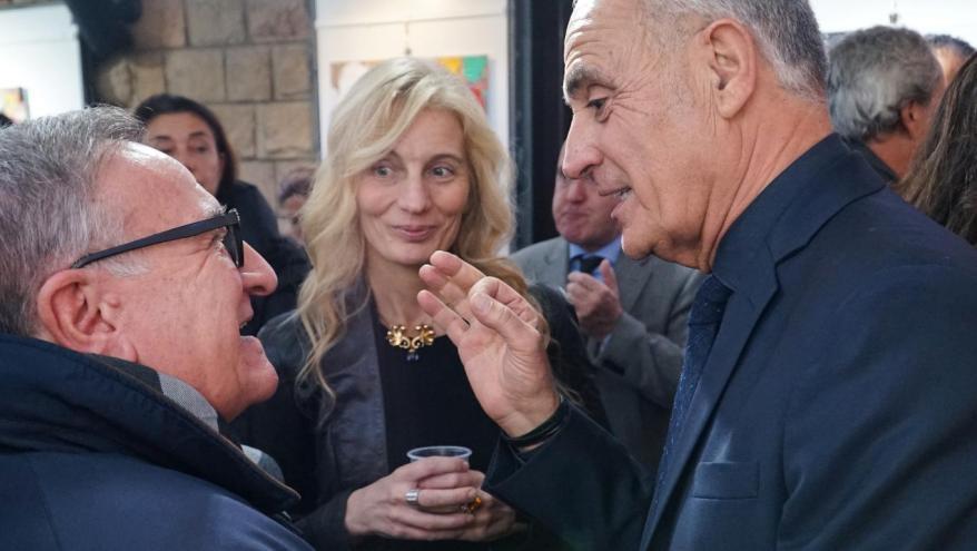 Valeria Arnaldi e Natino Chirico