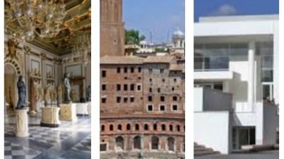 Musei Civici, Capitolini Traiano Ara Pacis