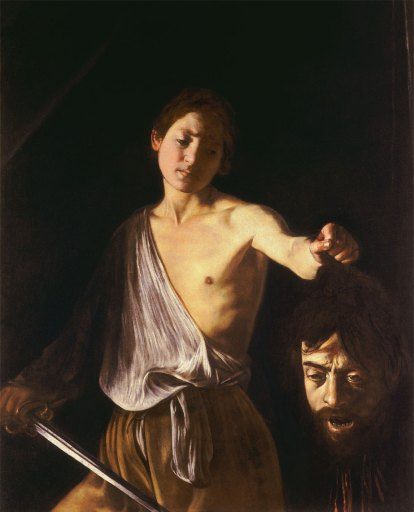 Caravaggio, David con la testa di Golia