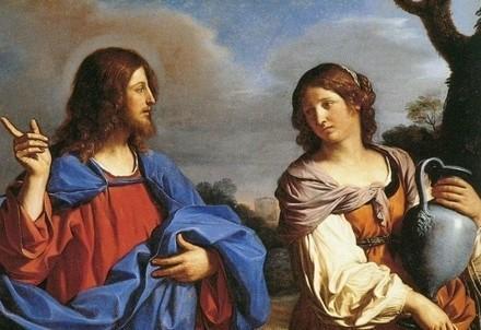 Guercino, Gesù e la samaritana al pozzo