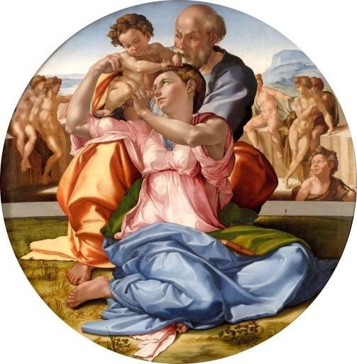 Michelangelo Buonarroti, Sacra Famigli, nota come Tondo Doni