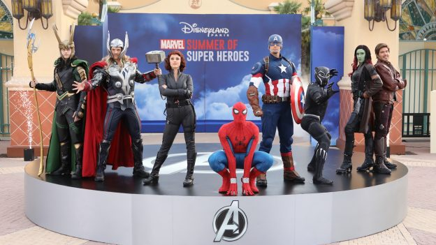 Disneyland Paris, Avengers, Aladin