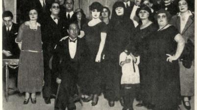 Sei personaggi in cerca d'autore 1921 _ fondo Biblioteca Museo Teatrale Siae
