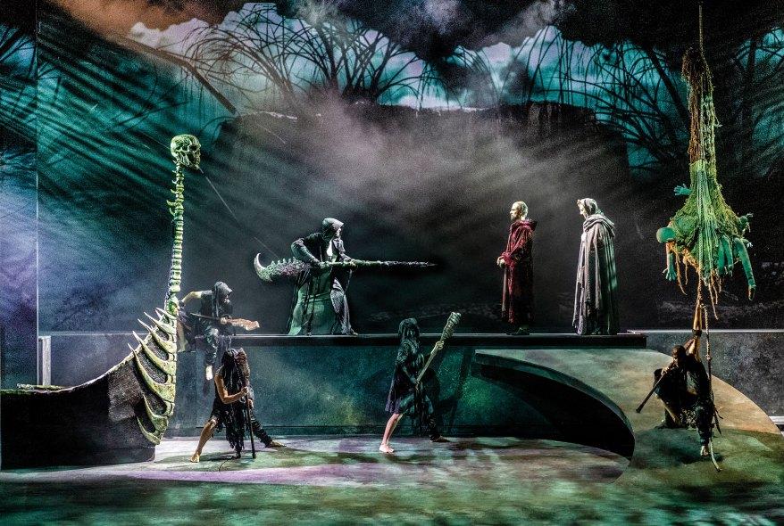 caronte - La Divina Commedia opera musical