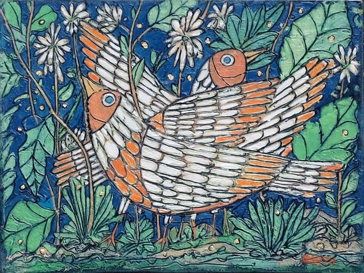 Garth Speight Coppia di uccelli