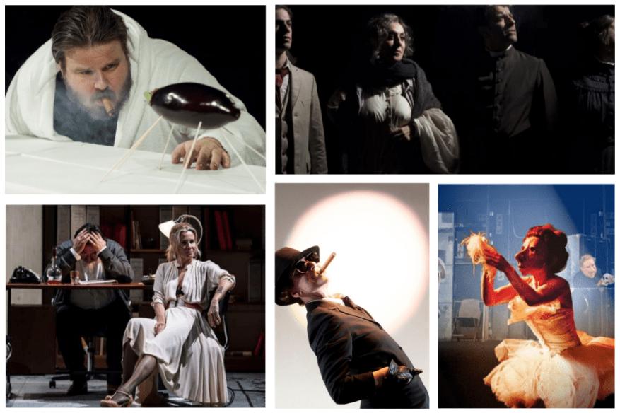 Scene da un matrimonio al Teatro Eliseo, L'anima Buona di Sezuan al Teatro Quirino, Orson Welles' Roast all'Ambra Jovinelli, Ferdinando al Teatro La Cometa, Teatro Delusio al Sala Umberto