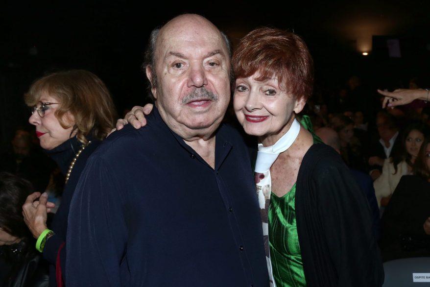 Lino Banfi e Milena Vukotic
