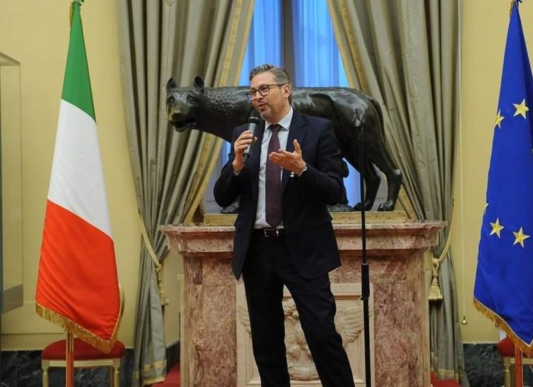 Giovanni Tarquini, Presidente del Centro Culturale Laurentum