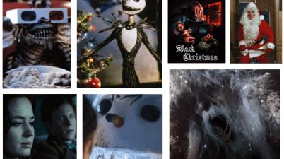 sette pellicole perfette per l'occasione: Gremlins a Natale di Sangue, Jack Frost e Nightmare Before Christmas