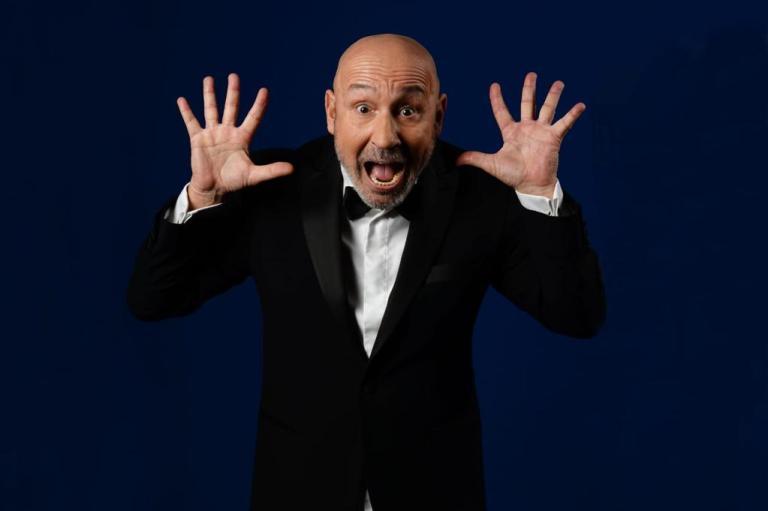 Maurizio Battista in scena al Teatro Olimpico