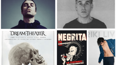 Joshua Radin, Liam Gallagher, Dream Theater, Riki e Negrita