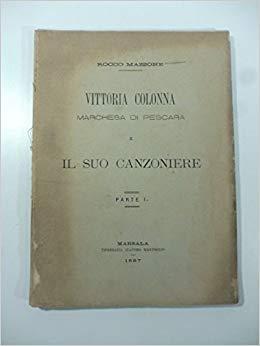 Canzoniere di Vittoria Colonna