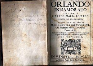 L'Orlando innamorato di Boiardo