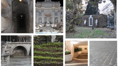"""aneddoti su Fontana di Trevi e Monte Testaccio, sulle catacombe e sulla Porta Magica. E ancora sul primo McDonald's italiano, sui sampietrini e sui rifiuti più """"storici"""""""