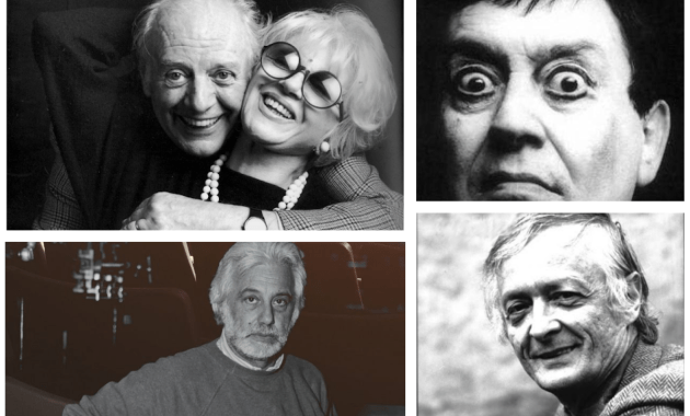 Dario Fò, Franca Rame, Luca Ronconi, Carmelo Bene e Giuliano Vasilicò