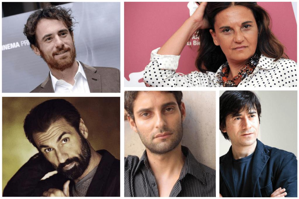 Fabrizio Gifuni, Luigi Lo Cascio, Elio Germano, Emma Dante e Tindaro Granata