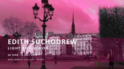 Light and Vision, la prima personale di Edith Suchodrew a Roma