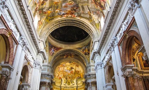 I segreti di Roma - la Chiesa di Sant'Ignazio e la (doppiamente) finta cupola di Andrea Pozzo