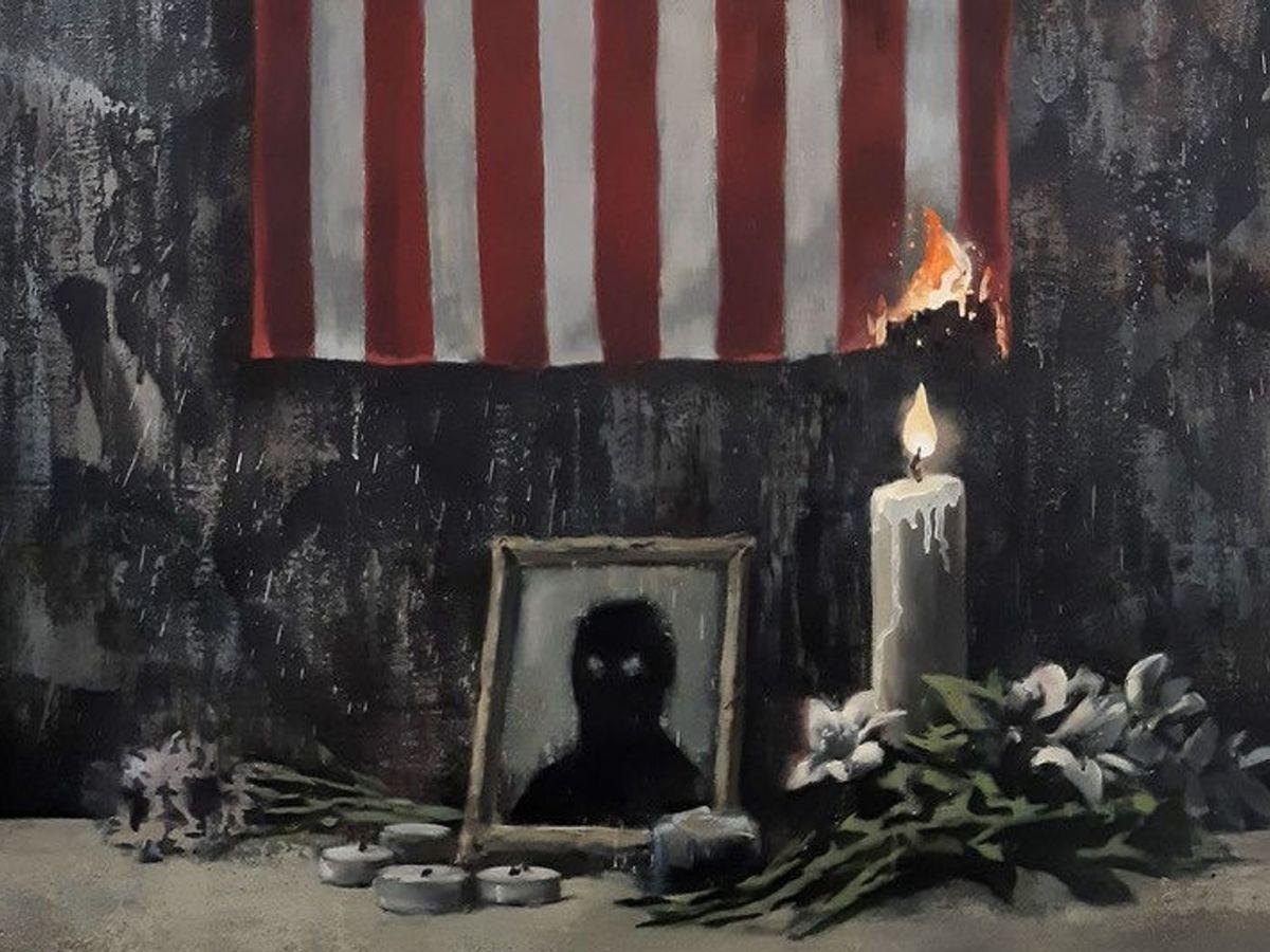 Banksy per George Floyd