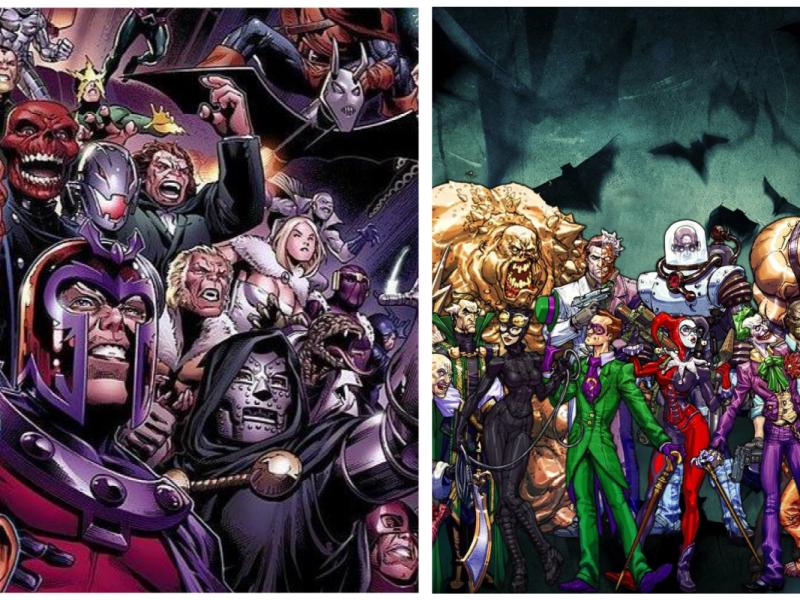 La classifica dei 100 villains della storia del fumetto mondiale