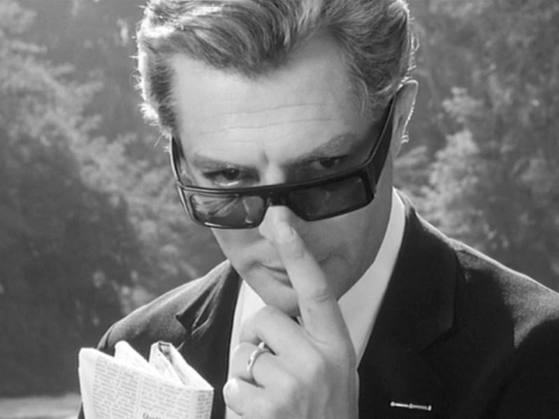 Marcello Mastroianni in 8½