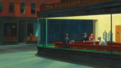 1942 Edward Hopper I nottambuli