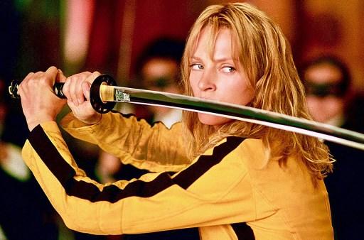 Kill Bill (2003) con Uma Thurman, David Carradine e Daryl Hannah