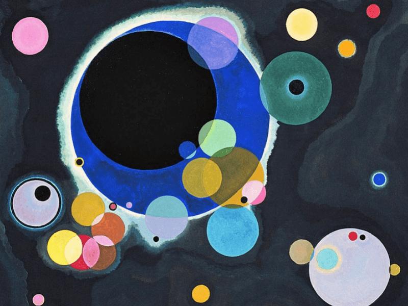 Alcuni cerchi di Vasilij Kandinskij
